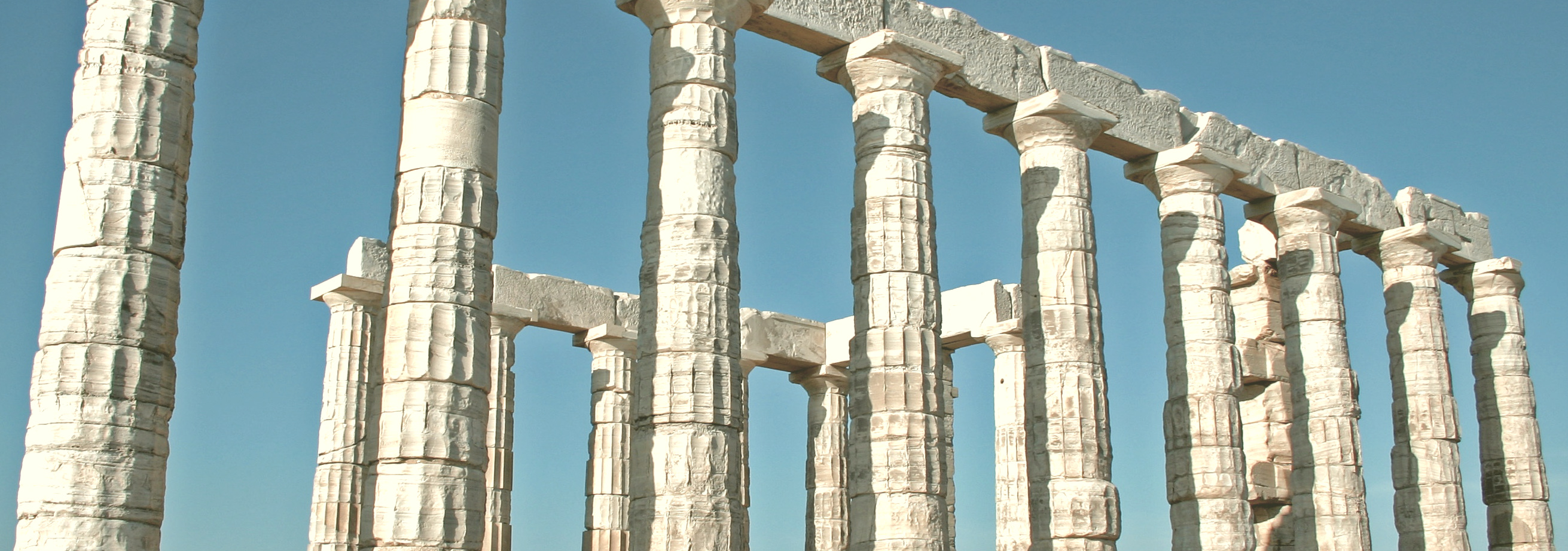 these are actually ruins of poseidon's temple in greece. joke's on you.
