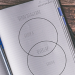 venn diagram notebook - my notes are not this neat